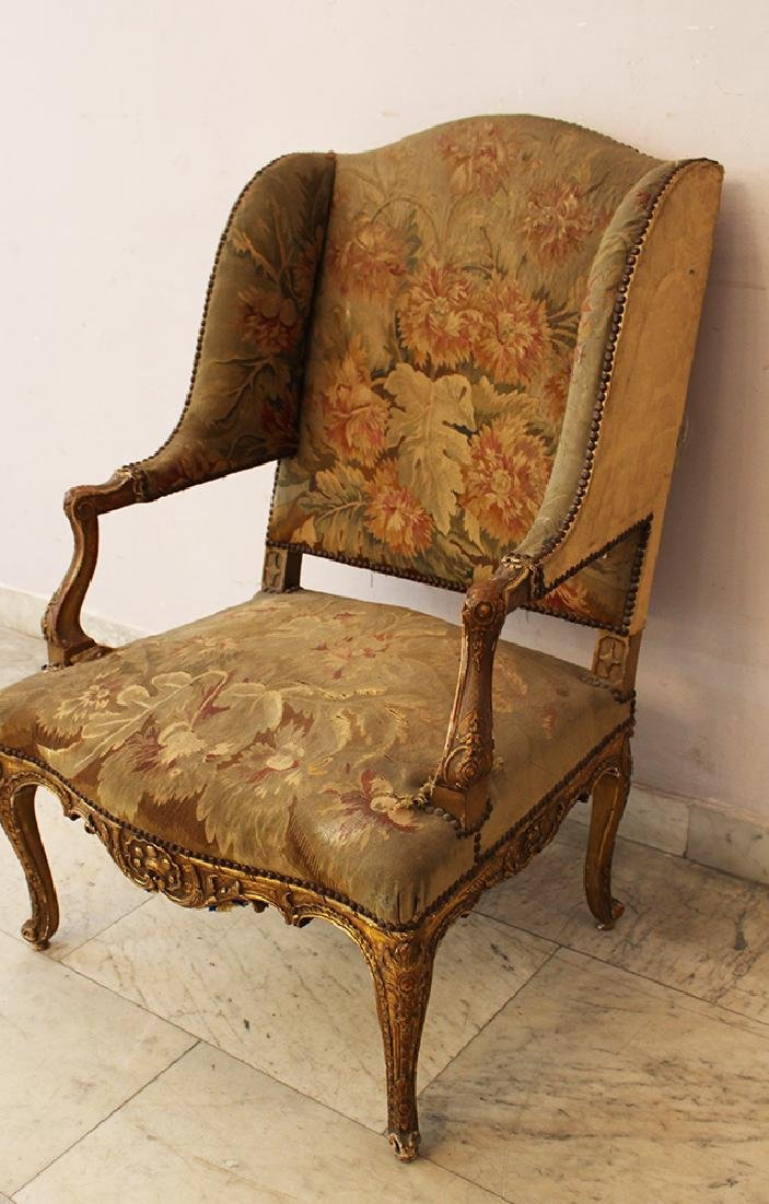 French Aubusson Armchair - 2