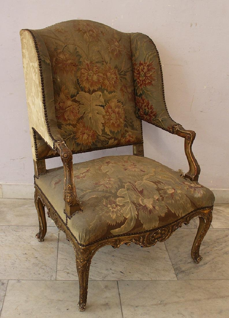 French Aubusson Armchair - 3