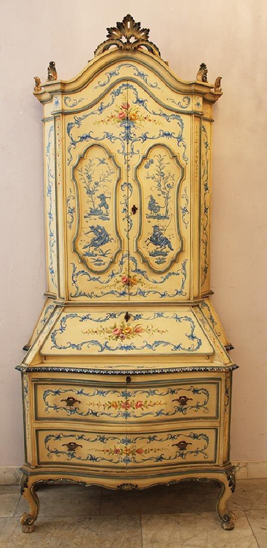 Venetian Bureau in baroque style