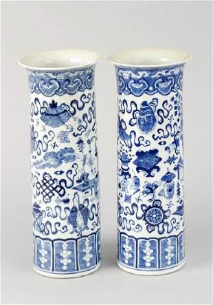 Pair of Kangxi Vases