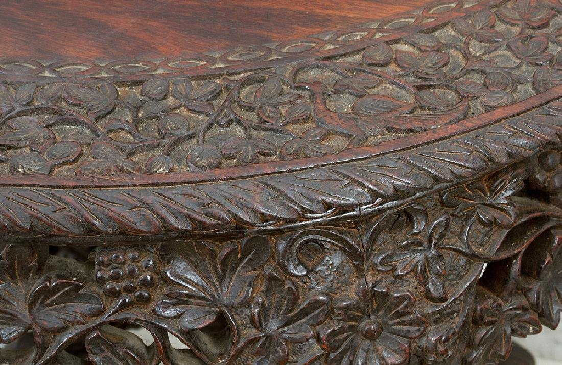 Anglo Indian Colonial Console Table - 3