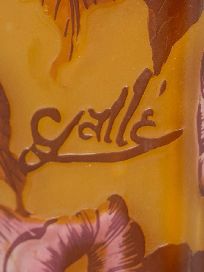 French Art Noveau Glass Vase - 3