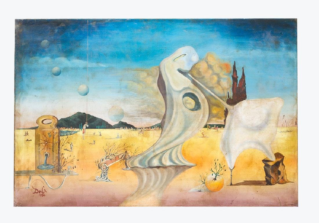 Salvador Dalí  (1904 – 1989)- after