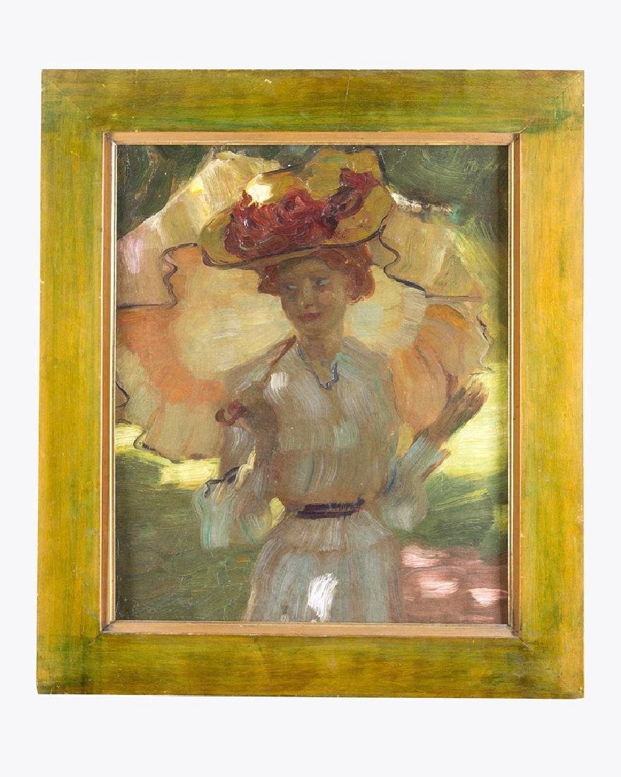 Leo Putz (1869-1940)- attributed
