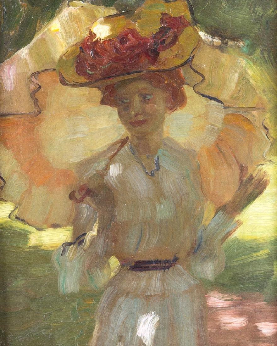 Leo Putz (1869-1940)- attributed - 2