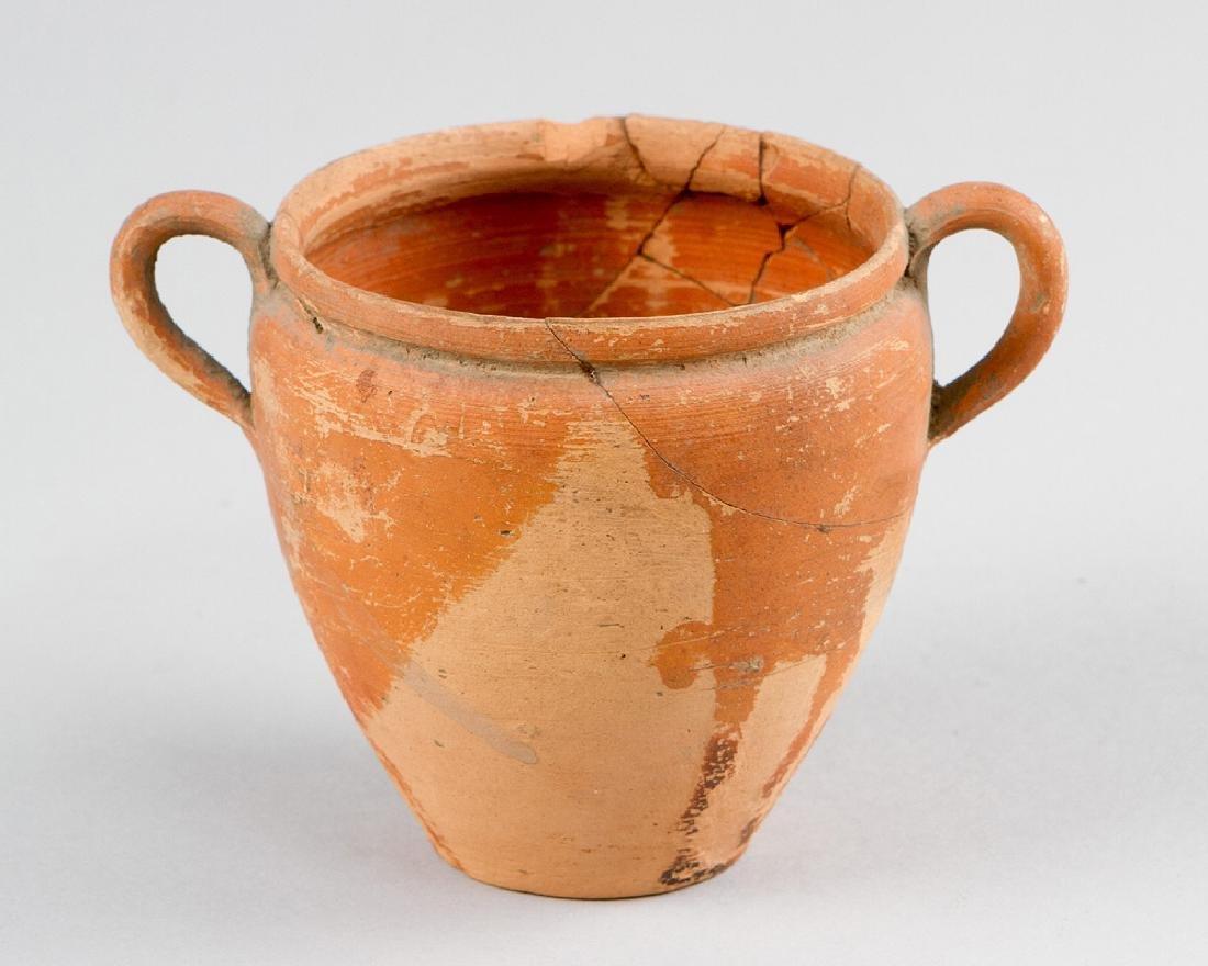 Small Terracotta Vessel