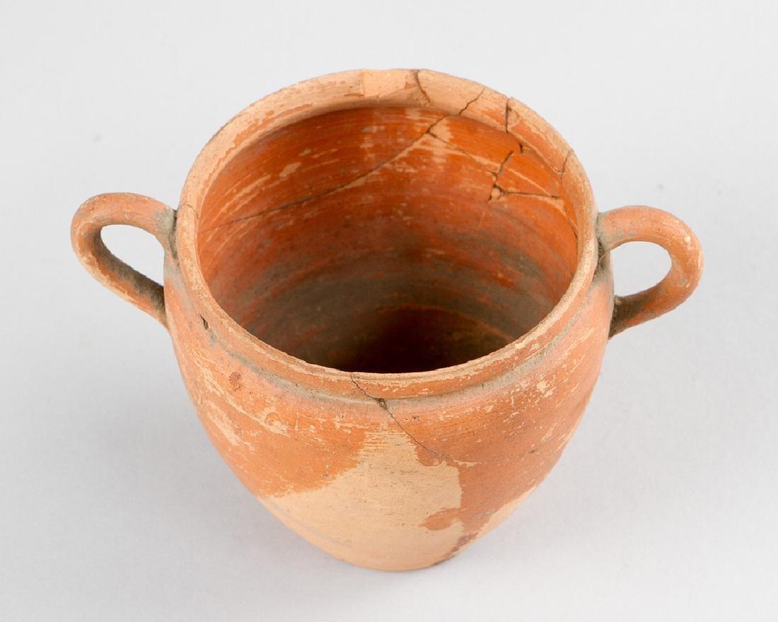 Small Terracotta Vessel - 2