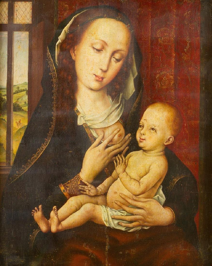 Rogier van der Weyden (1399-1464) -attributed - 2