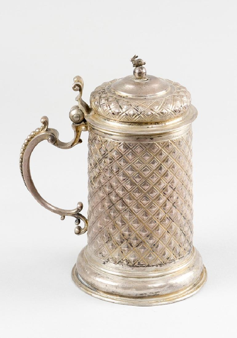 German Silver Tankard