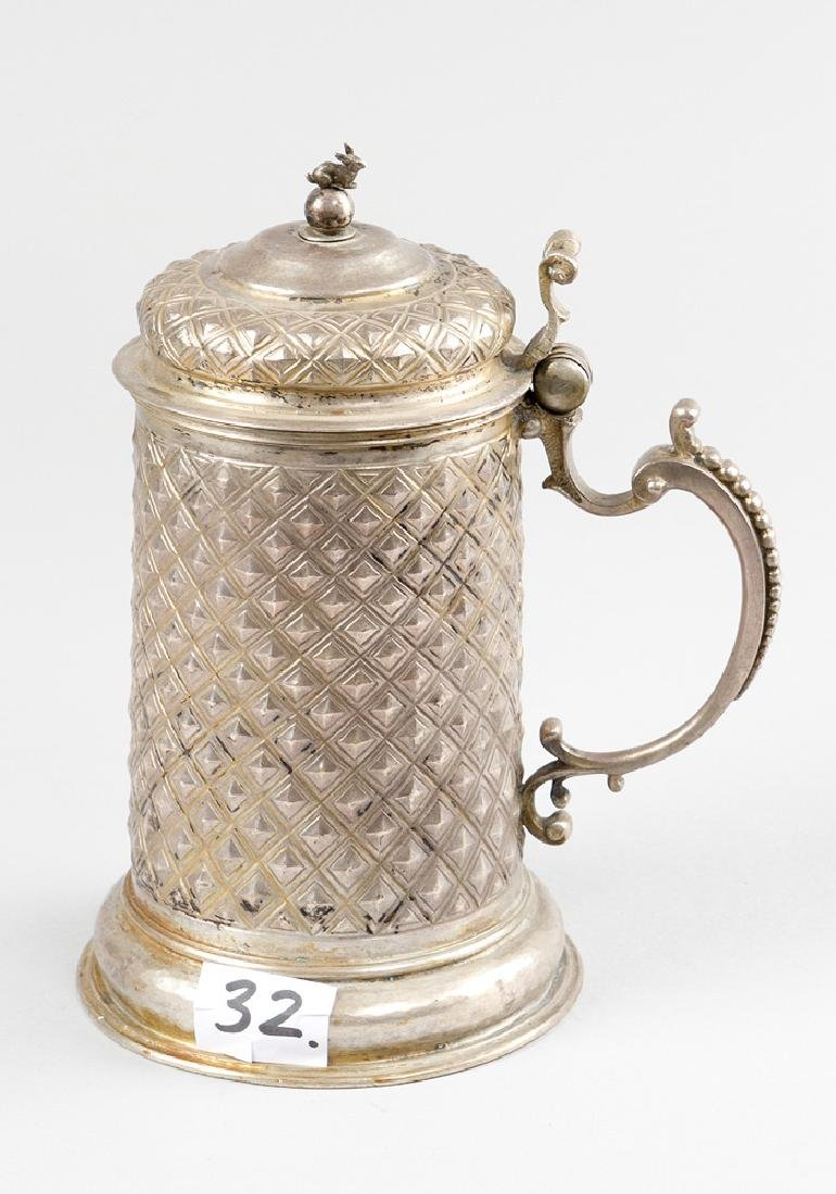 German Silver Tankard - 2