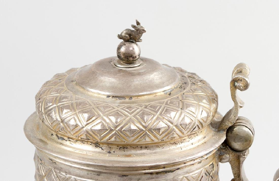 German Silver Tankard - 3