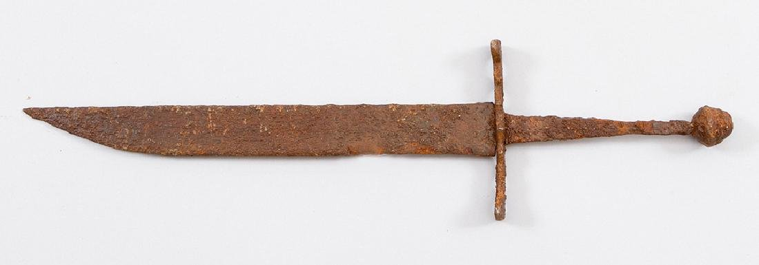 Medieval Iron Knife