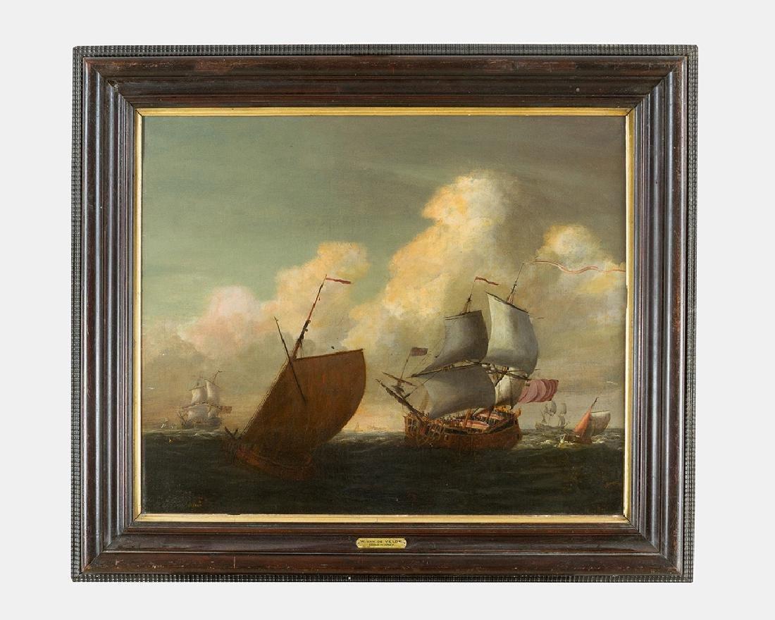 Wilhelm van de Velde (1633-1707)-attributed