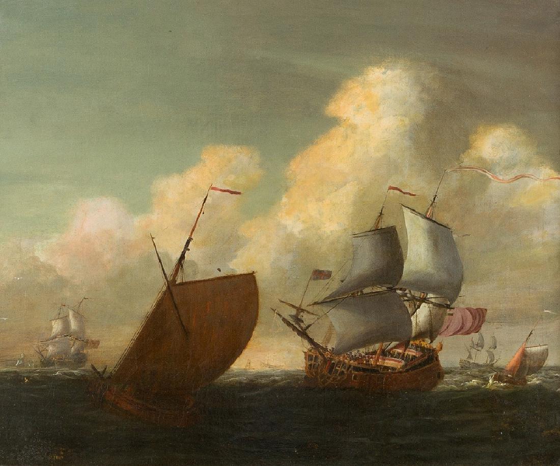 Wilhelm van de Velde (1633-1707)-attributed - 2
