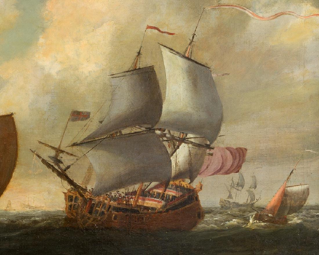 Wilhelm van de Velde (1633-1707)-attributed - 3