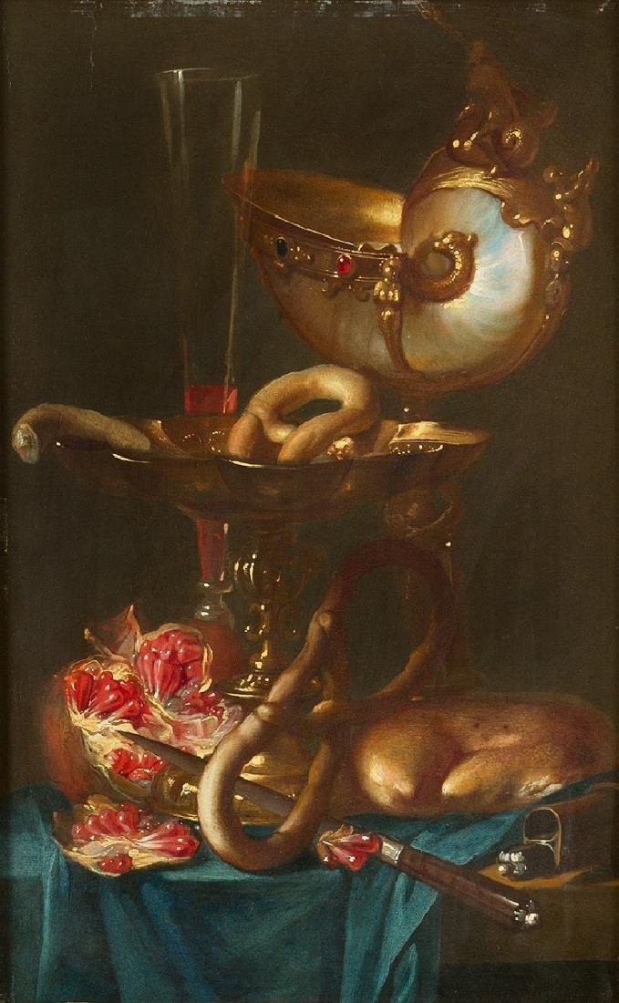 Abraham van Beijeren (1620- 1690 )-attributed - 2