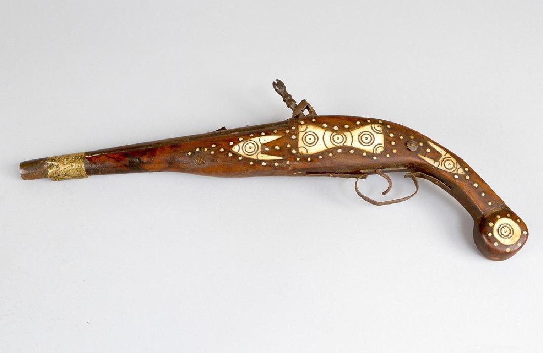 Flintlock System Pistol in Renaissance Style - 2