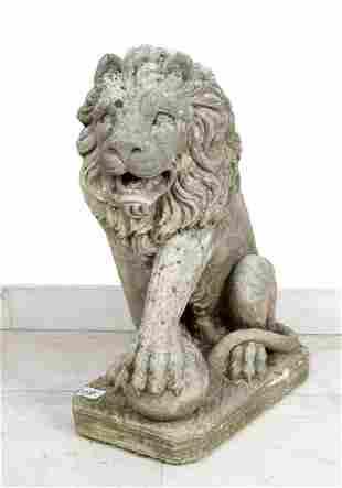 Portal Stone Lion