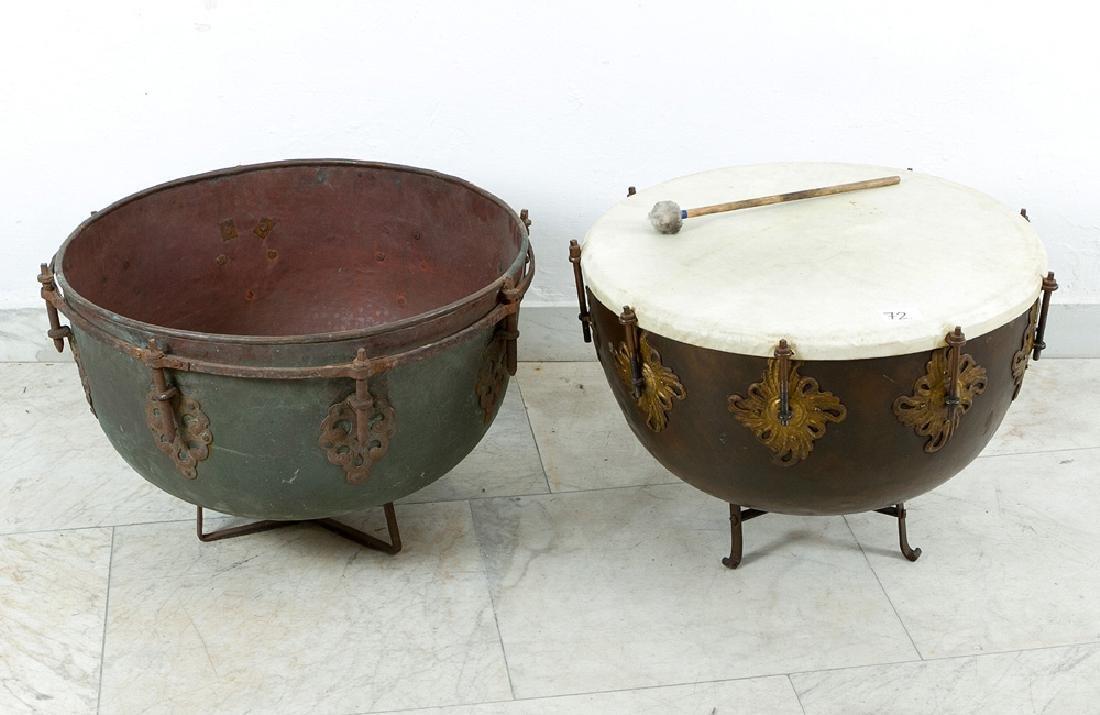 Two Baroque Timpani