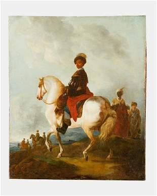 Francesco Casanova 17271803attributed