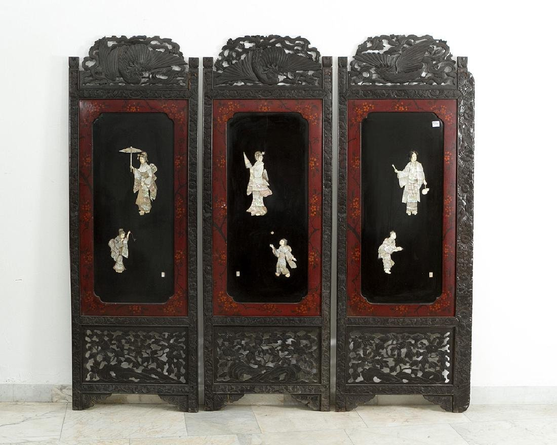 Three Japanese Panels