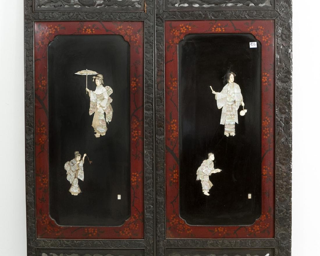 Three Japanese Panels - 2
