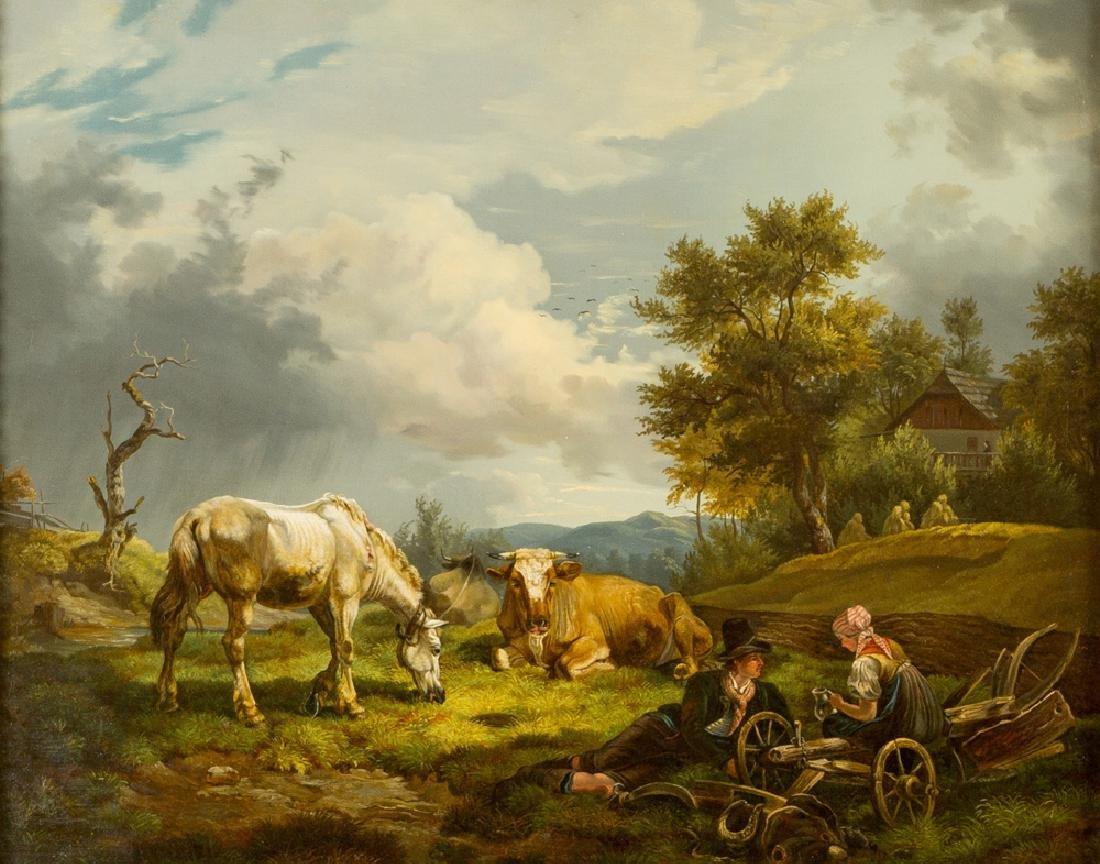 Friedrich Gauermann ( 1807- 1862)-circle - 2