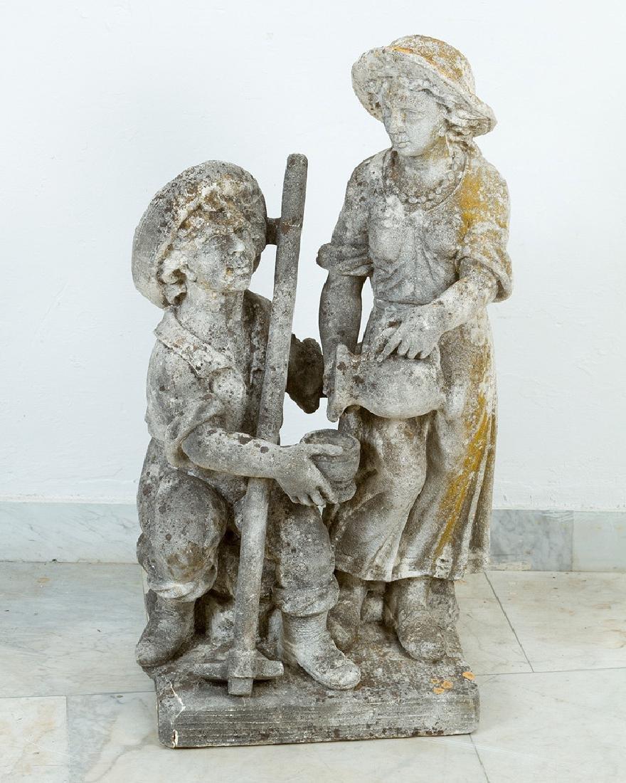 Pair of North Italian Garden Sculptures - 2