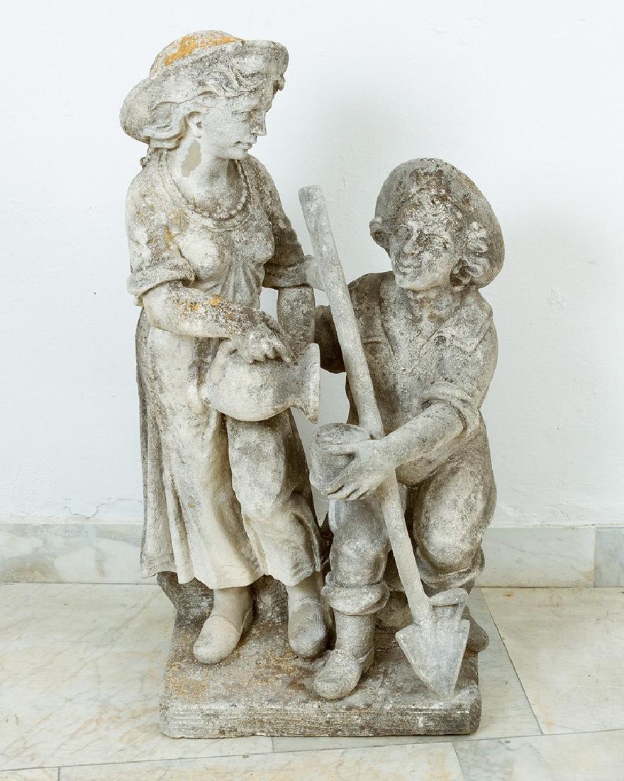 Pair of North Italian Garden Sculptures - 3
