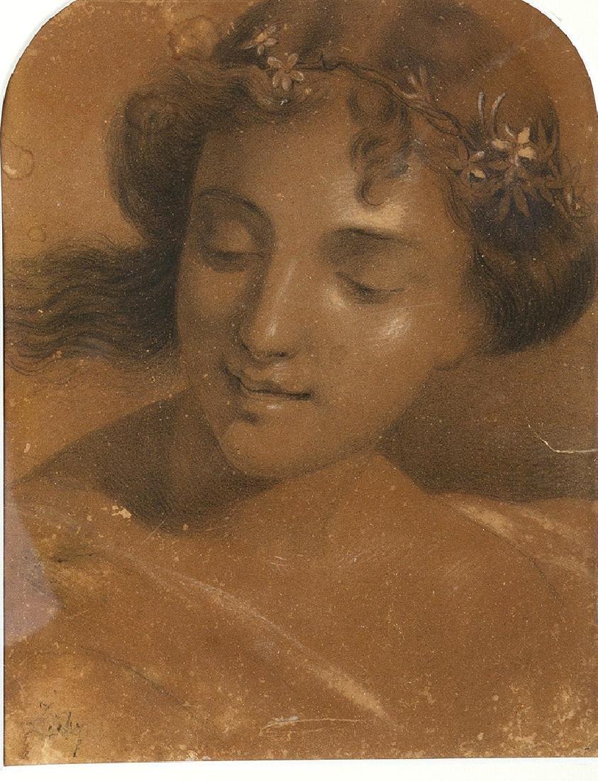 Michael von Zichy (1827 1906) -attributed - 2