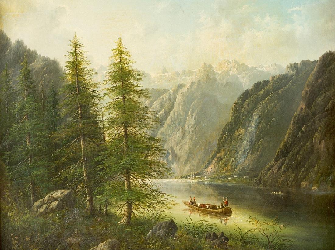 Franz Barbarini (1804-1873) -attributed - 2