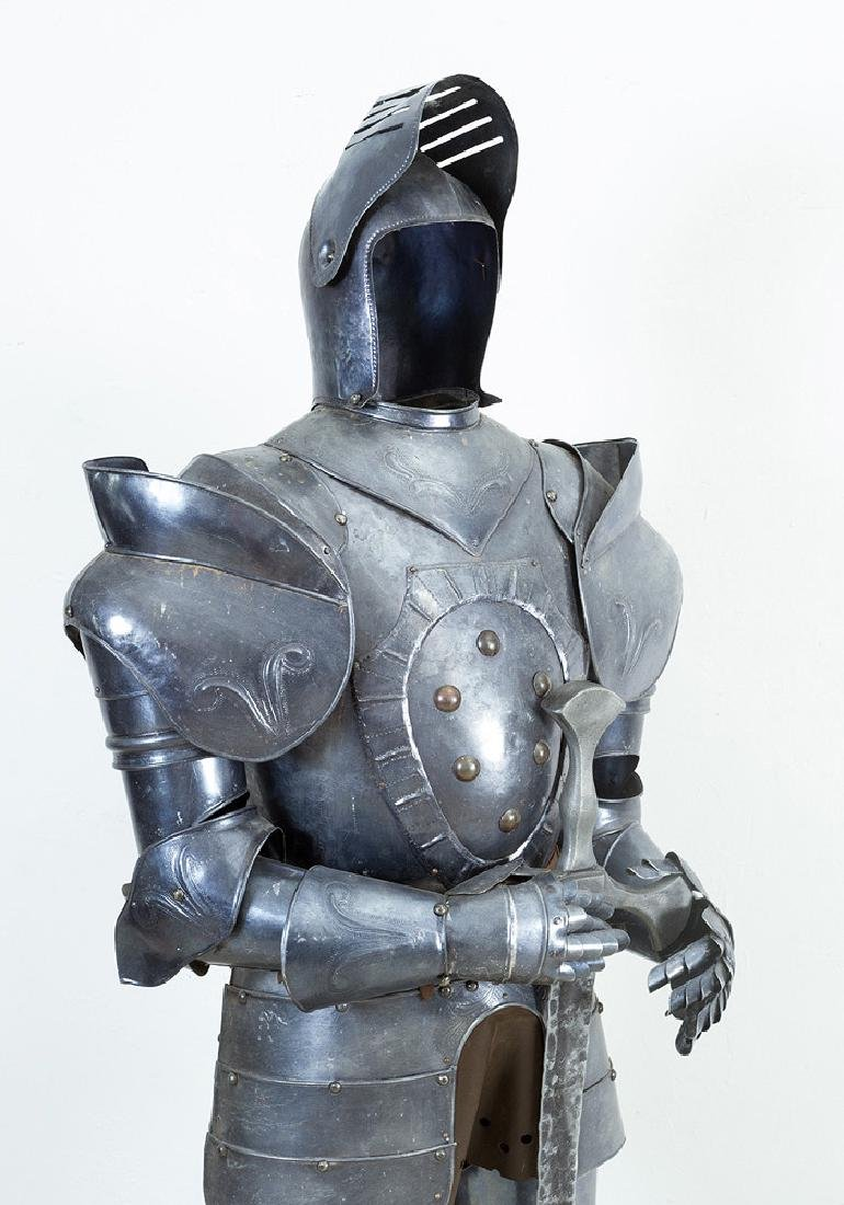 A knights Armour in medieval style - 2