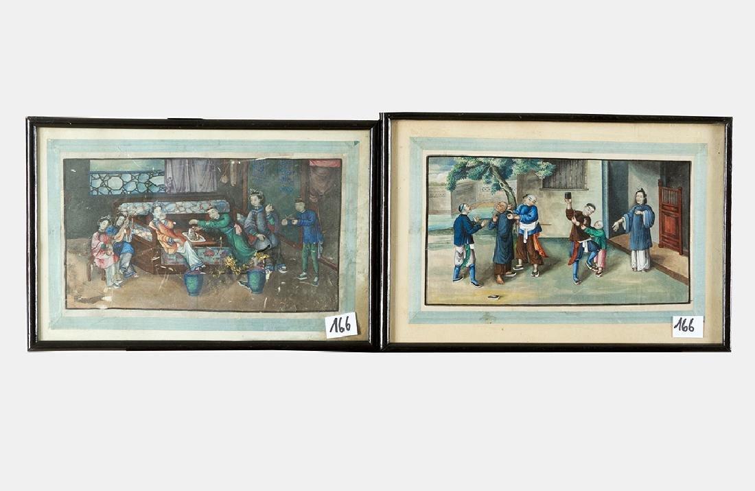 Chinese Watercolours