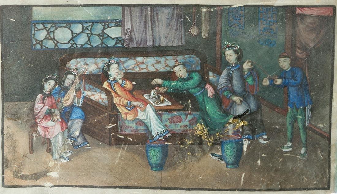 Chinese Watercolours - 2