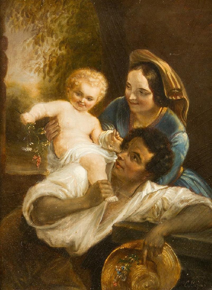 Carl Joseph Begas (1794- 1854)-attributed - 2