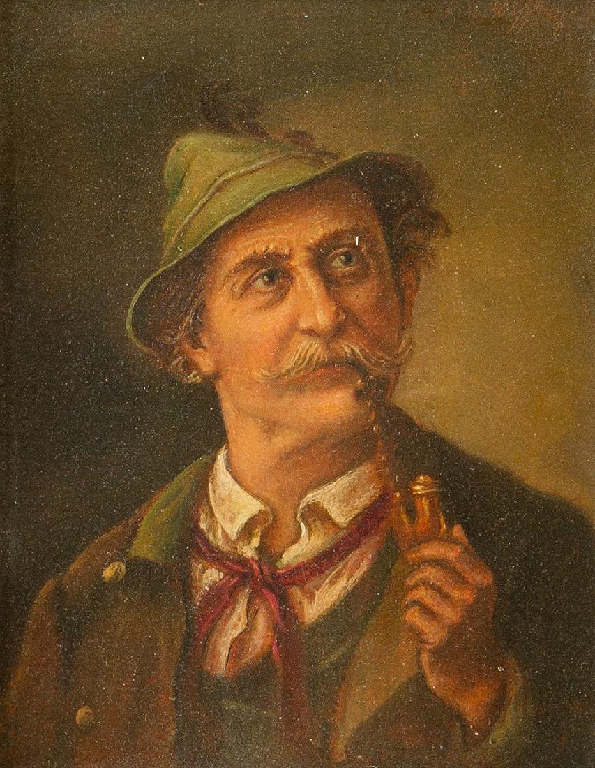 Franz Defregger (1835- 1921) -attributed - 2