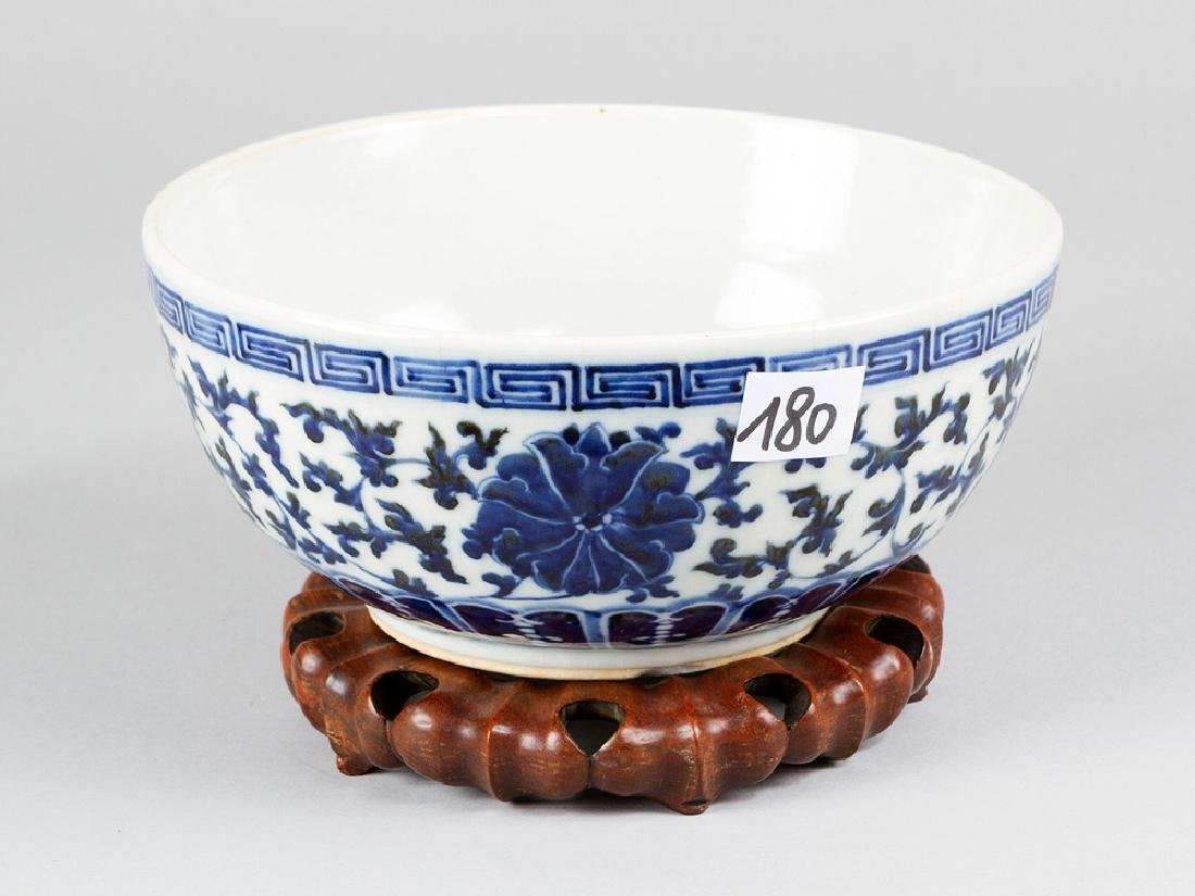 Chinese Blue and White Bowl