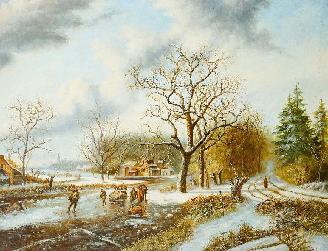 Frederik Marinus Kruseman (1816-1882)-follower - 2