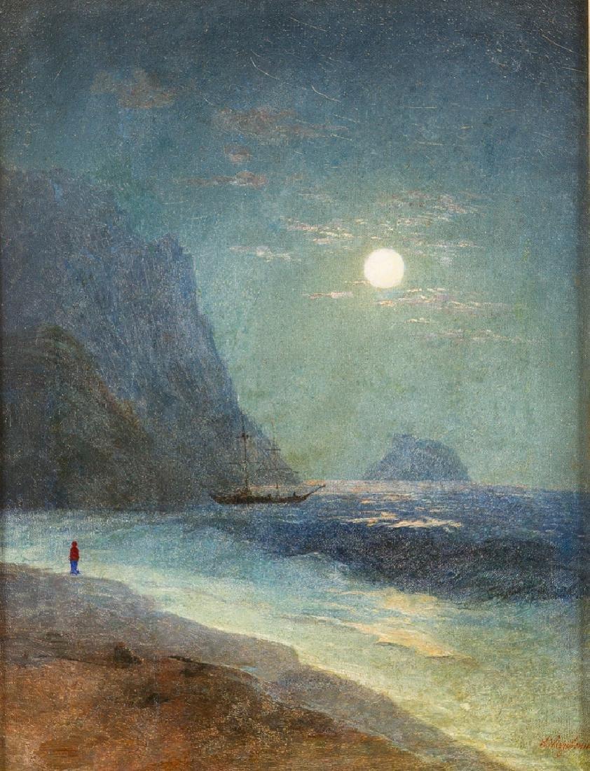 Ivan Konstantinovich Aivazovsky (1817 – 1900)-attrib. - 2