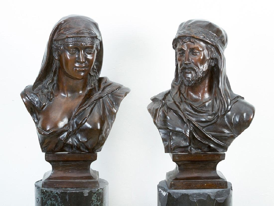 Pair of oriental Busts