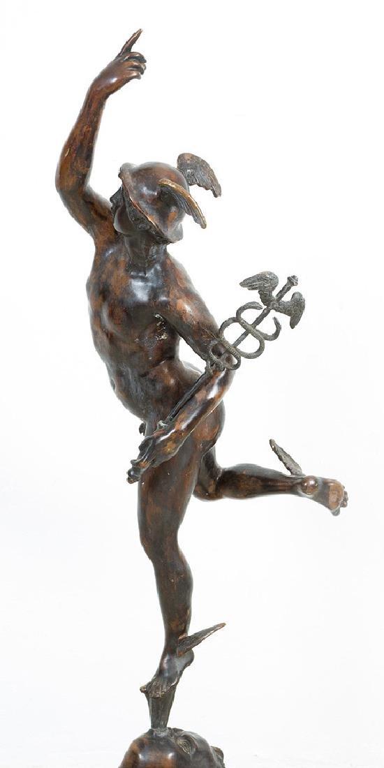 Mercury after Giambologna (1529-1608) - 3