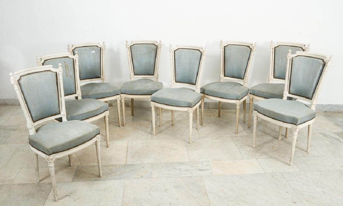 Eight French Chairs