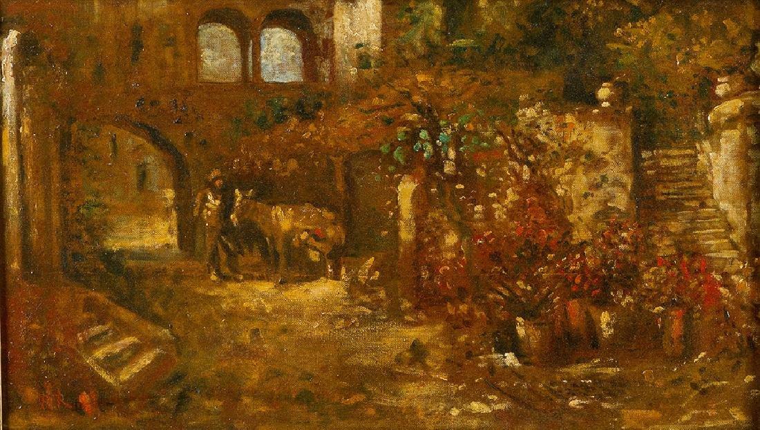 Robert Russ (1847 -1922)-attributed - 2