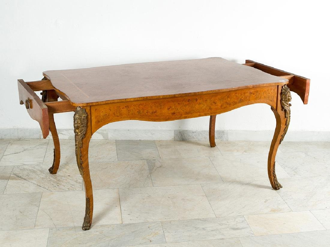 French Expandable Dining Table