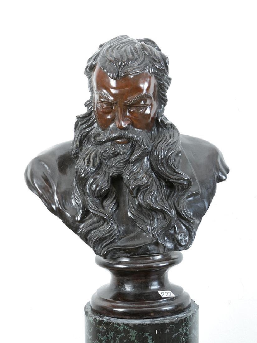 Male Bronze Bust