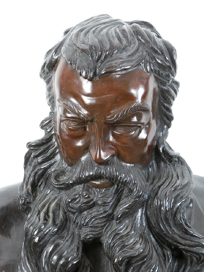 Male Bronze Bust - 2