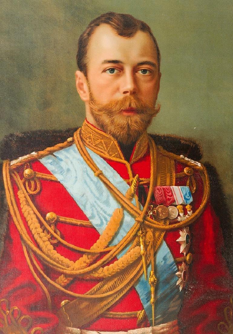 Tsar Nikolaus the II (1868-1918)- Graphic - 2