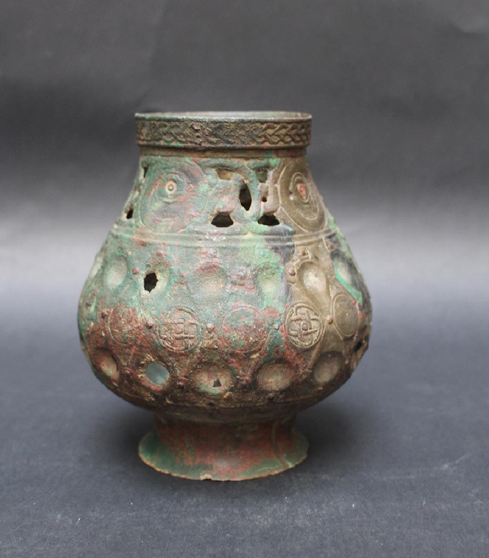 Byzantine or oriental bronze vessel - 2