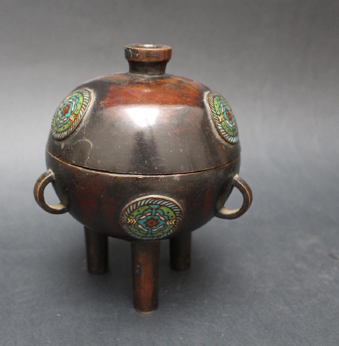 Chinese Bronze Pot - 2