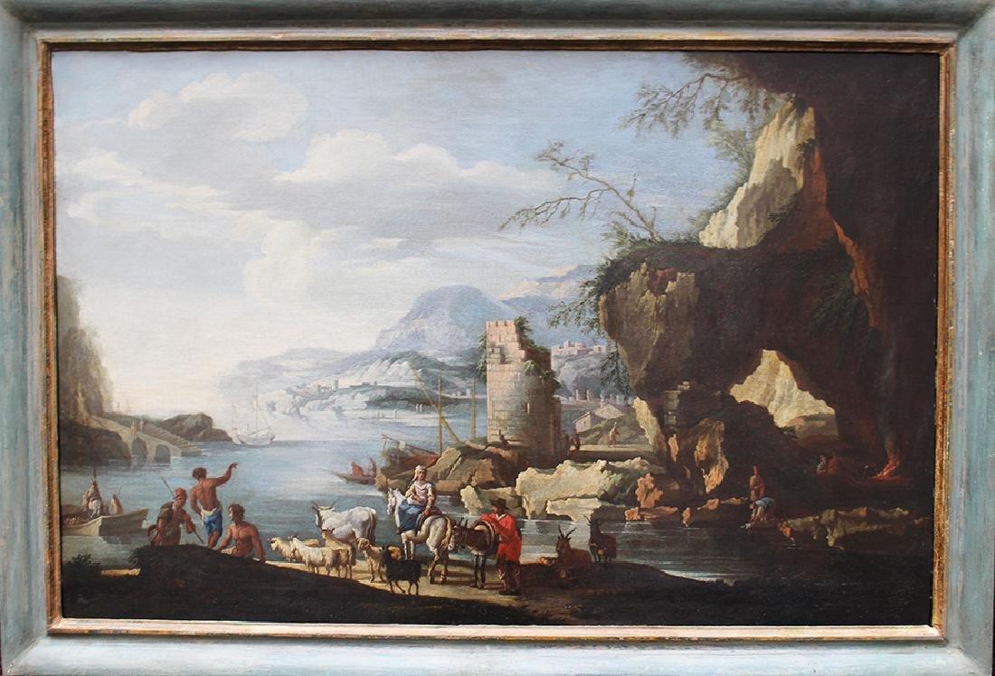 Italian school around 17th century